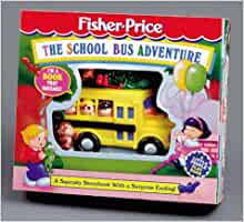 the school bus adventure fisher price little people. Black Bedroom Furniture Sets. Home Design Ideas