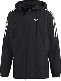 adidas auth anorak jacke herren schwarz schwarz weiß
