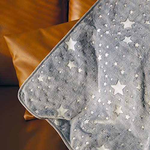 Dark Throw Blanket Christmas Birthday Unique Gifts for Kids Girls Boys and Grandkids