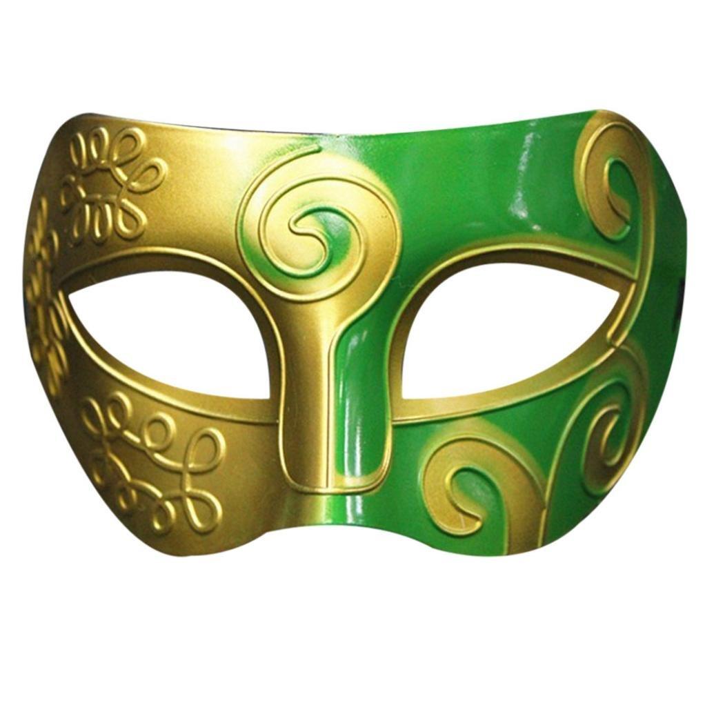 Halloween Masque FEITONG Retro Roman Gladiator Swordsman Mardi Gras Masquerade Masques E