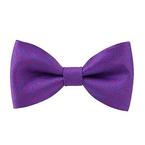 YYB-Tie Corbata Moda Corbata de Lazo clásica Hecha a Mano de Seda ...