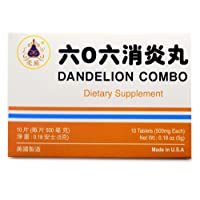 Dandelion Combo Herbal Supplement Helps Promote and Maintain A Healthy Urinary System 10 Tablets 500mg/each Made in USA