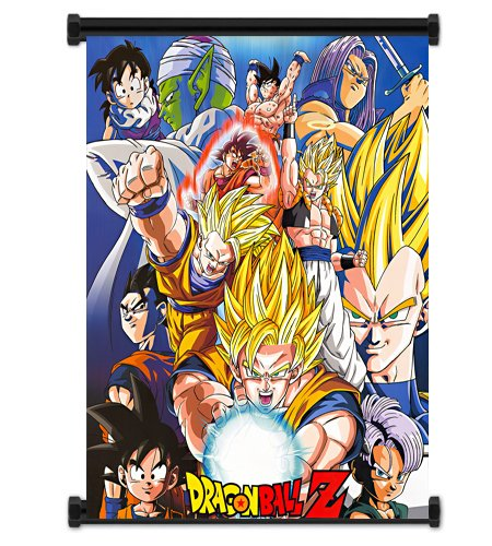 Dragon Ball Z Anime Fabric Wall Scroll Poster