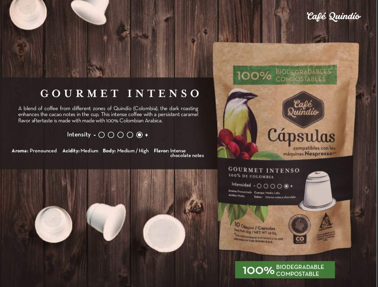 Biodegradable Capsules Line Compatible with Nespresso ...