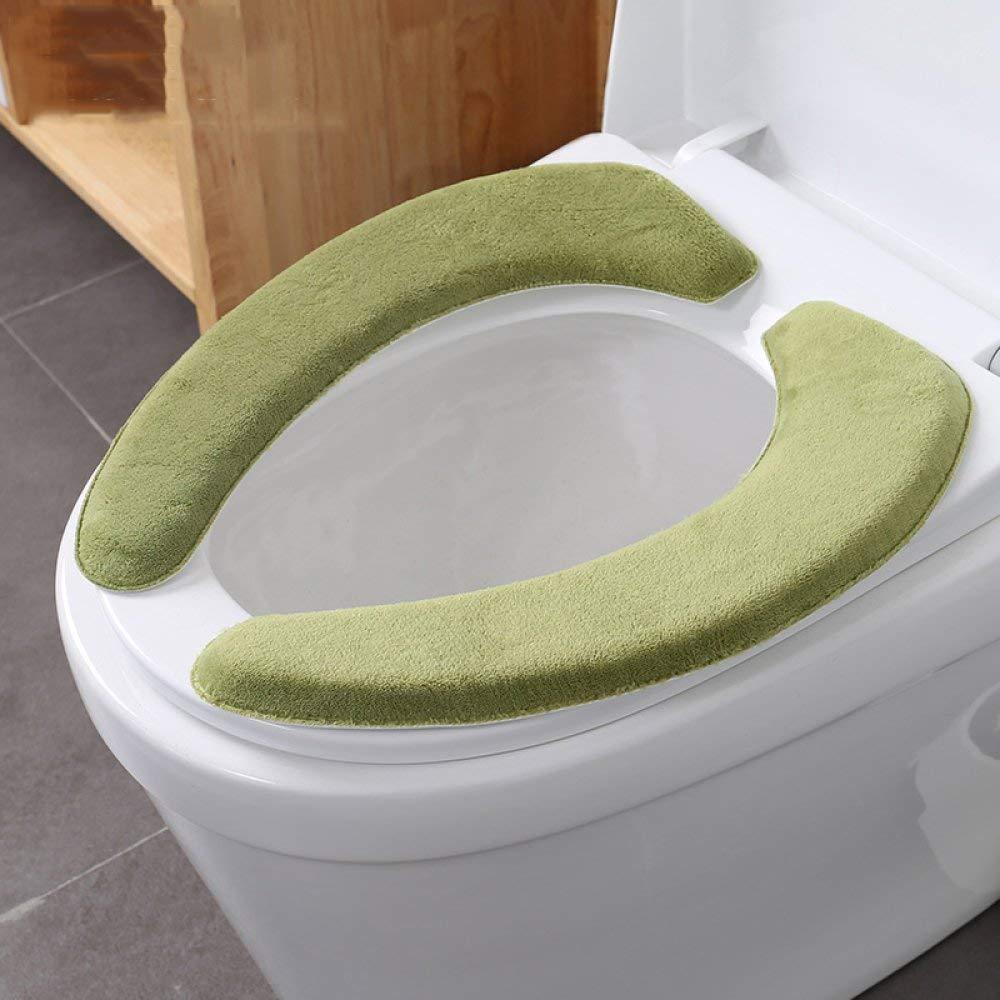 LanDream Toilet Cushion Paste Toilet Seat Winter Toilet Thickening Universal Toilet Seat Cushion Toilet Seat Toilet Seat (Color : I, Size : cm)
