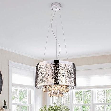 Lot de 3 Aluminium Tea Light Holders contemporain chandeliers Lampe de table