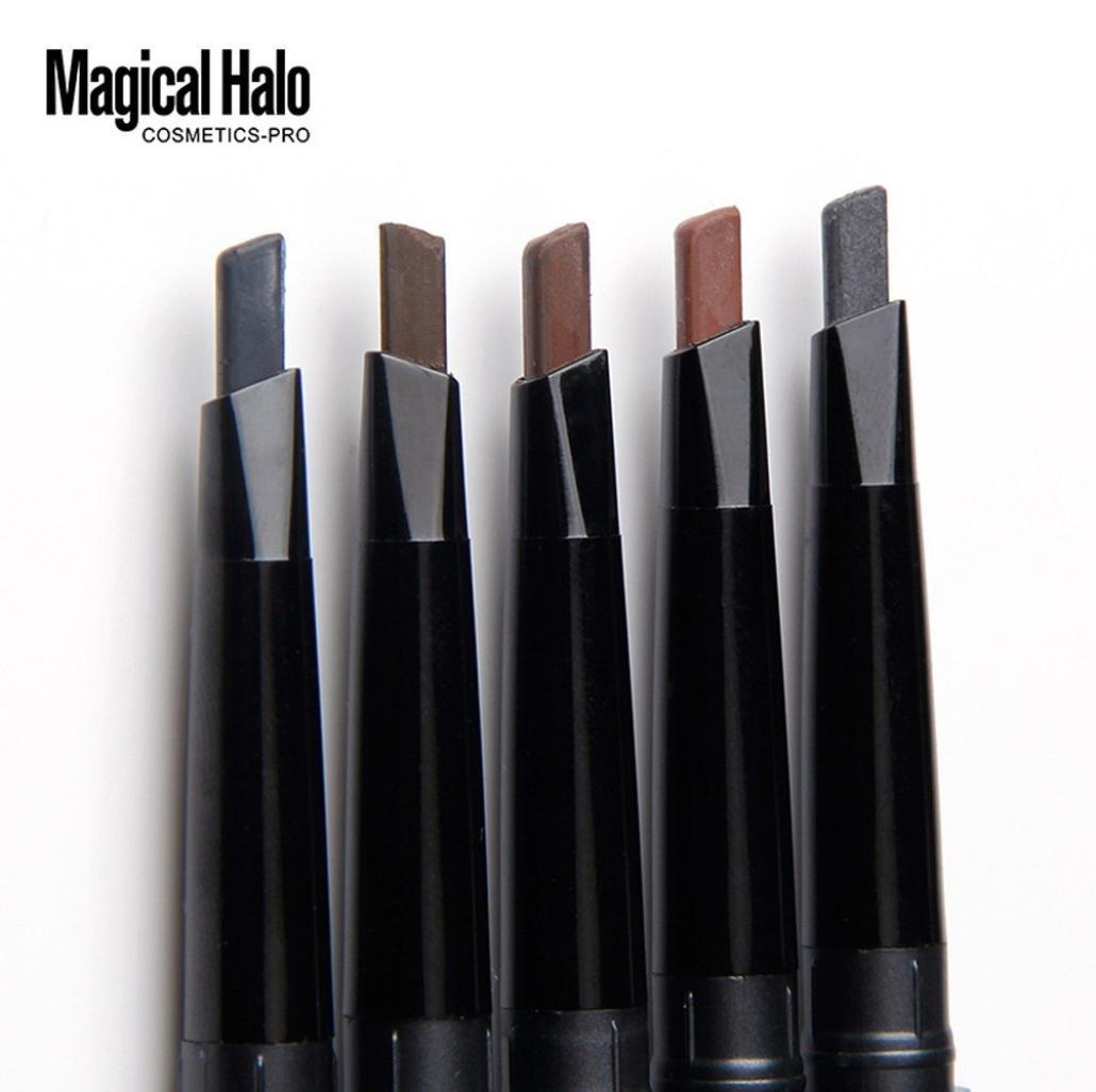 Smtsmt Waterproof Eye Brow Eyeliner Eyebrow Pen Pencil Ql Cream 15gr With Brush Makeup For Cosmetic Tool D Beauty