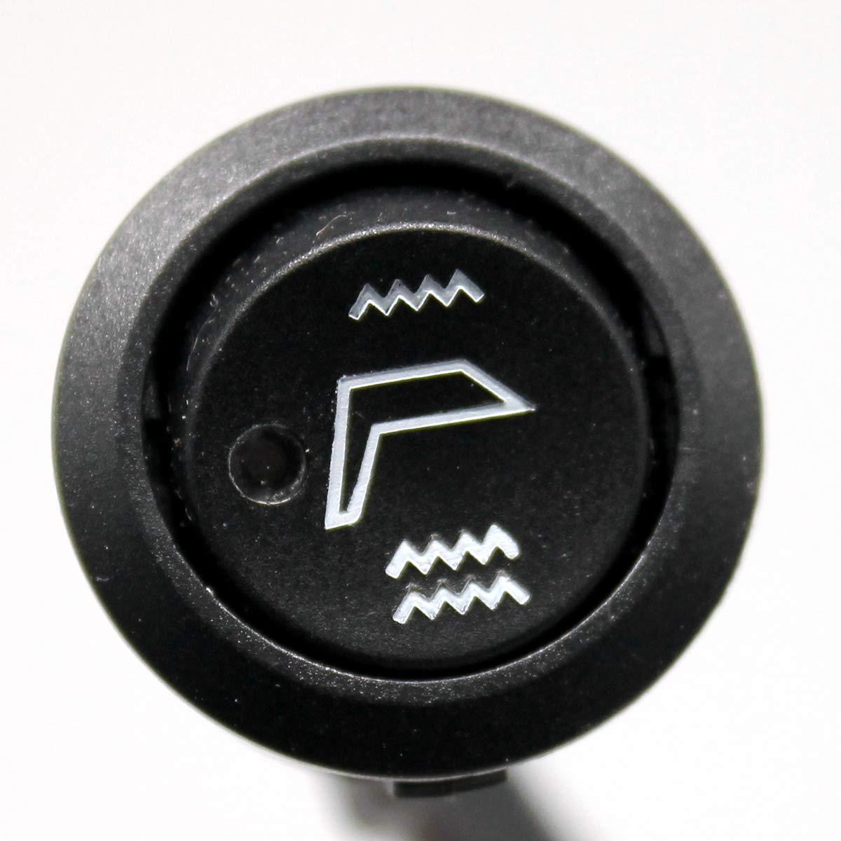 Carbon Fiber Mesh Replacement 12v Seat Heater Pad Element