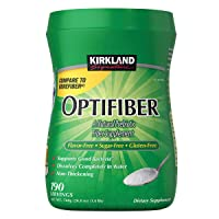 Kirkland Signature OPTIFIBER Sugar Free Favor Free Gluten Free Non Thickening, NET...