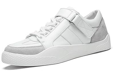 bbf48360766087 LFEU Homme Chaussure Sport Mode Basket Course Skate Lacets Scratch Sneakers  Loisir Pour Running Sur Route Antichoc Endurance Confortable 39-44:  Amazon.fr: ...