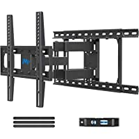 Mounting Dream TV Mount Full Motion TV Wall Mounts for 26-55 Inch Flat Screen TV, Wall Mount TV Bracket with Dual Arms…