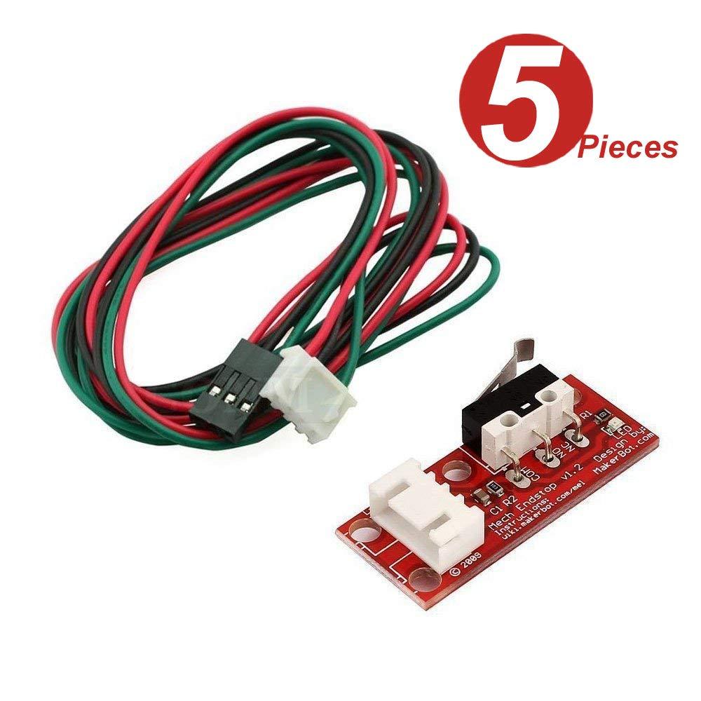 DollaTek 5 piezas de Interruptor mecánico de final de carrera con ...