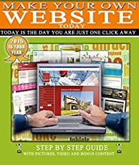 Would you like to learn How to Make your own Website>> This eBook will walk you through the Step by Step process of learning How to Create your own Website -  No Coding Necessary  This eBook is filled with content that is guaranteed to ...