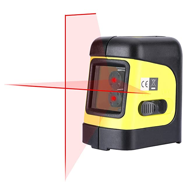 Firecore Self-Leveling Cross-Line Laser Level with Magnetic Bracket