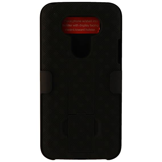 size 40 4f564 df98f Verizon OEM Shell Holster Stand Combo Case for LG G5 - Black - Retail  Package