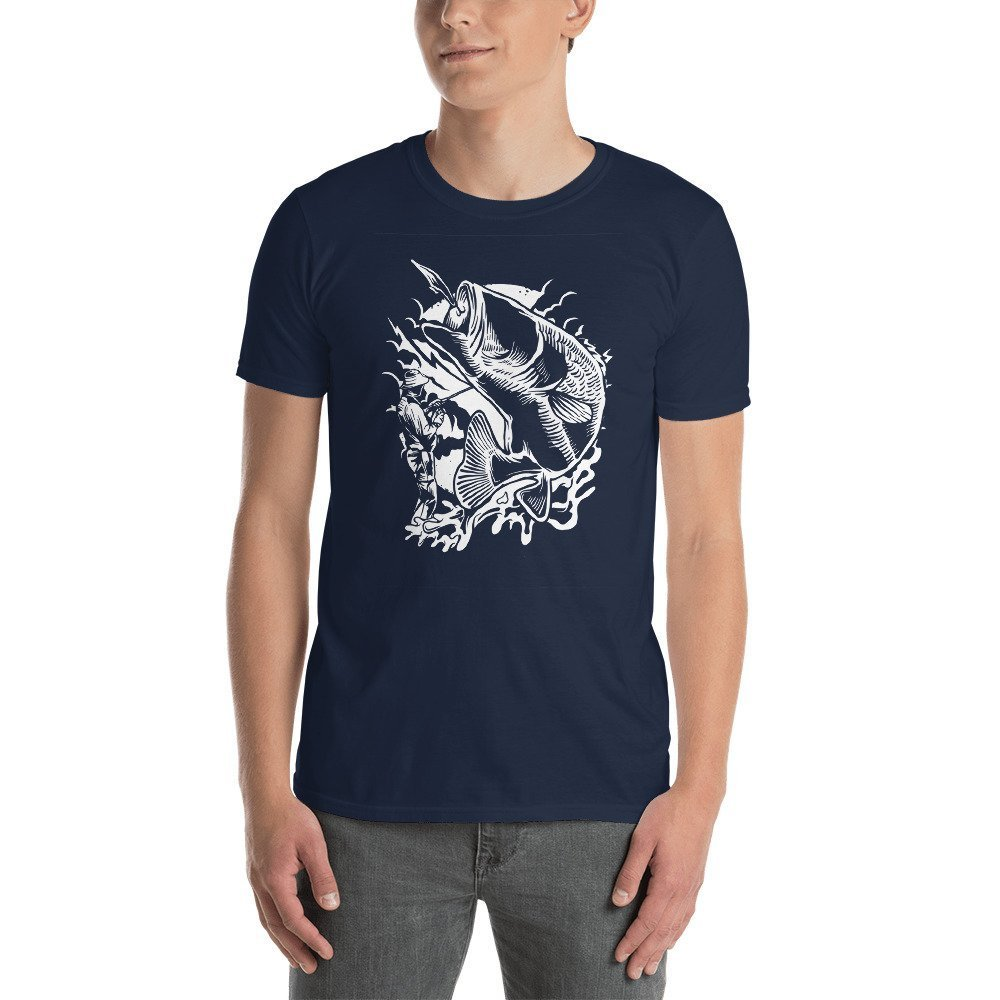 Short-Sleeve Unisex T-Shirt DR-MASTERMIND Fisherman