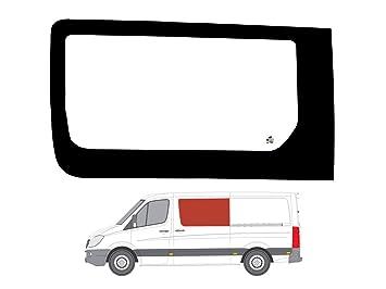 Mano izquierda ventana de fijo transparente para puerta corredera para Mercedes Sprinter (2006 on): Amazon.es: Coche y moto