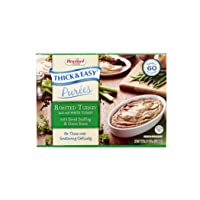 Thick & Easy Roasted Turkey Puree with Bread Stuffing & Green Beans, 7 Pack