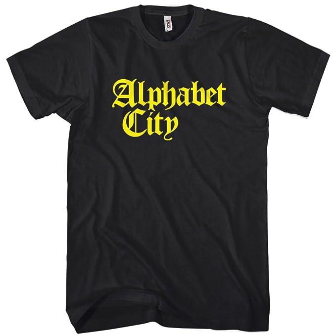 Amazon.com: SMASH clásico playera de alfabeto Ciudad Gótica ...