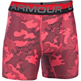 Under Armour Original Series Novelty Boxer Short - 2-Pack - Boys' Red/Black, XS