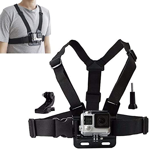 Cámara De Acción Chesty Strap For Gopro Hero 5 4 SJCAM SJ4000 ...