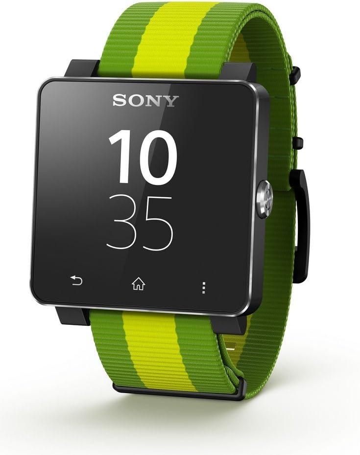 Sony SW2 Android/NFC Visualización directa SmartWatch: Amazon.es ...