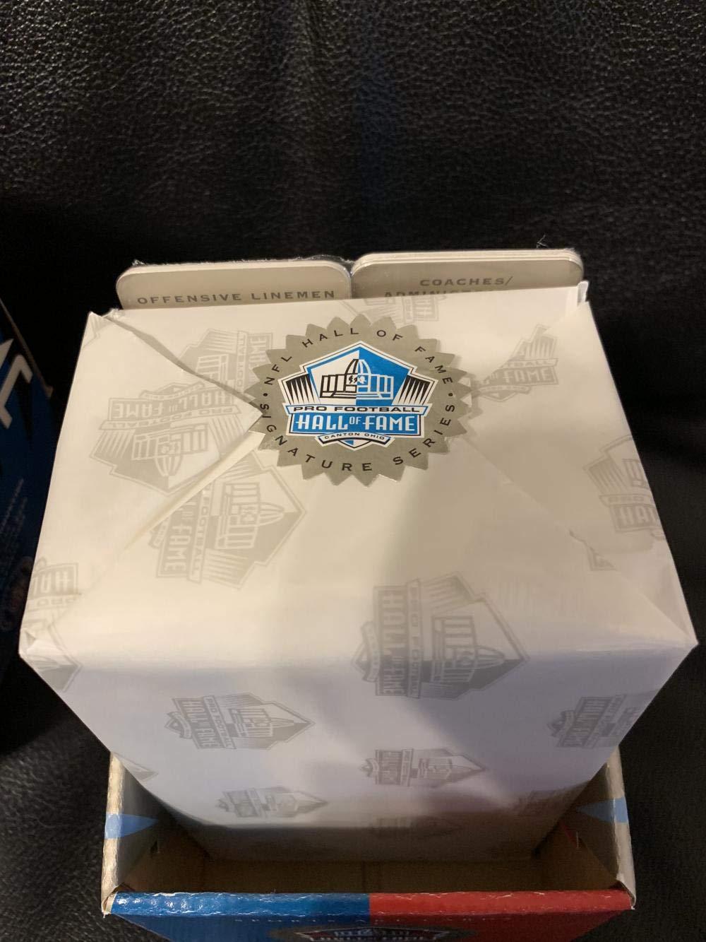 1998 Ron Mix NFL Hall Of Fame Platinum Signature Series Signed 116 Card Set MINT