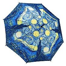 Galleria Starry Night Stick Umbrella (Starry Nights)