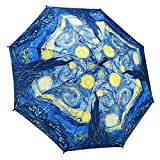 Galleria Starry Night Folding Umbrella