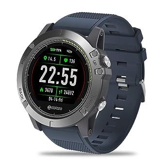 OSYARD Montre Connectée Zeblaze Vibe 3 HR Montre Smart Watch Phone Sports Men Smartwatch pour iOS Android: Amazon.fr: Montres