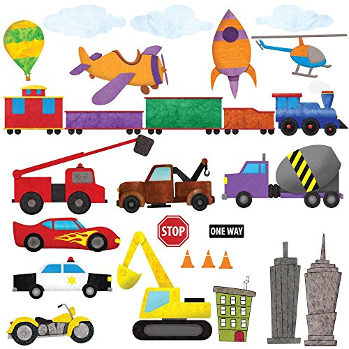 Car Wall Stickers, Train Wall Decals & Airplane Wall Decals