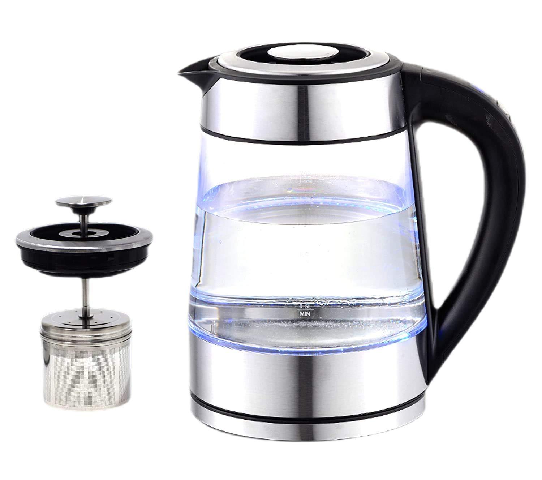 Tea maker with strainer filter