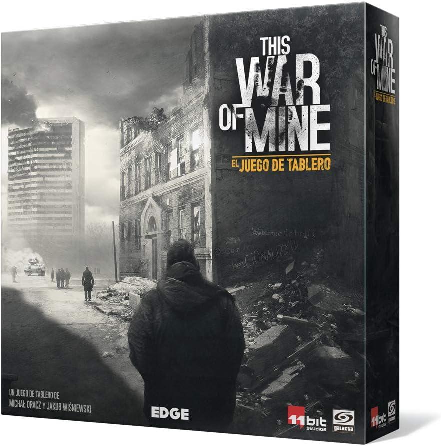 Edge Entertainment- This War of Mine: El Juego de Tablero ...