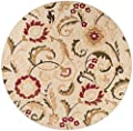 Universal Rugs Transitional Floral 5 ft. x 7 ft. Area Rug
