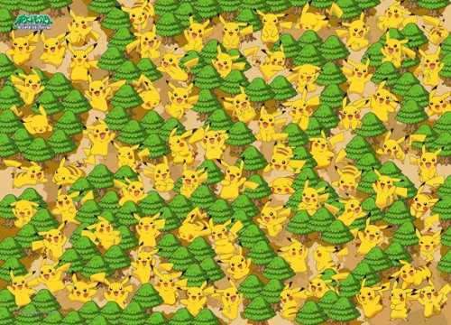 Forest of 300-L312 300 Piece Pokemon Pikachu DP (japan import)