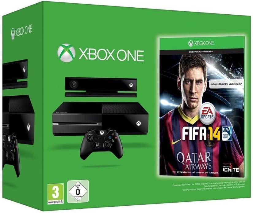 Xbox One - Consola (Edición Day One, Limitada), Incluye FIFA 14 ...