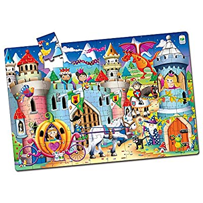 The Learning Journey Jumbo Floor Puzzle - Fairy Tale Castle - Preschool Toys & Gifts for Boys & Girls Ages 3 and Up: Toys & Games