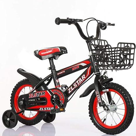 TX Bicicleta Deportiva Plegable para Niños Rueda Auxiliar De ...