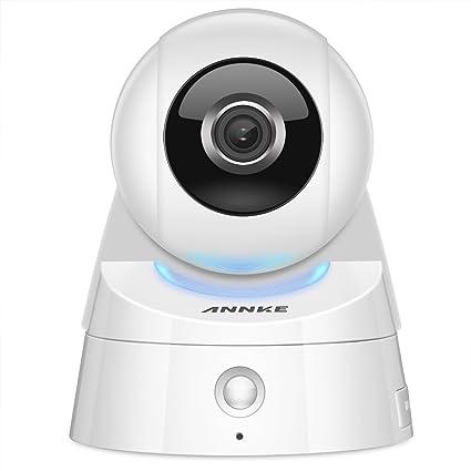 annke Cámara 1080P HD de red inalámbrica Cámara IP con alarma PIR Sensor, dos vía