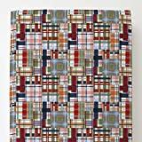 Carousel Designs Patchwork Plaid Toddler Bed Sheet Fitted