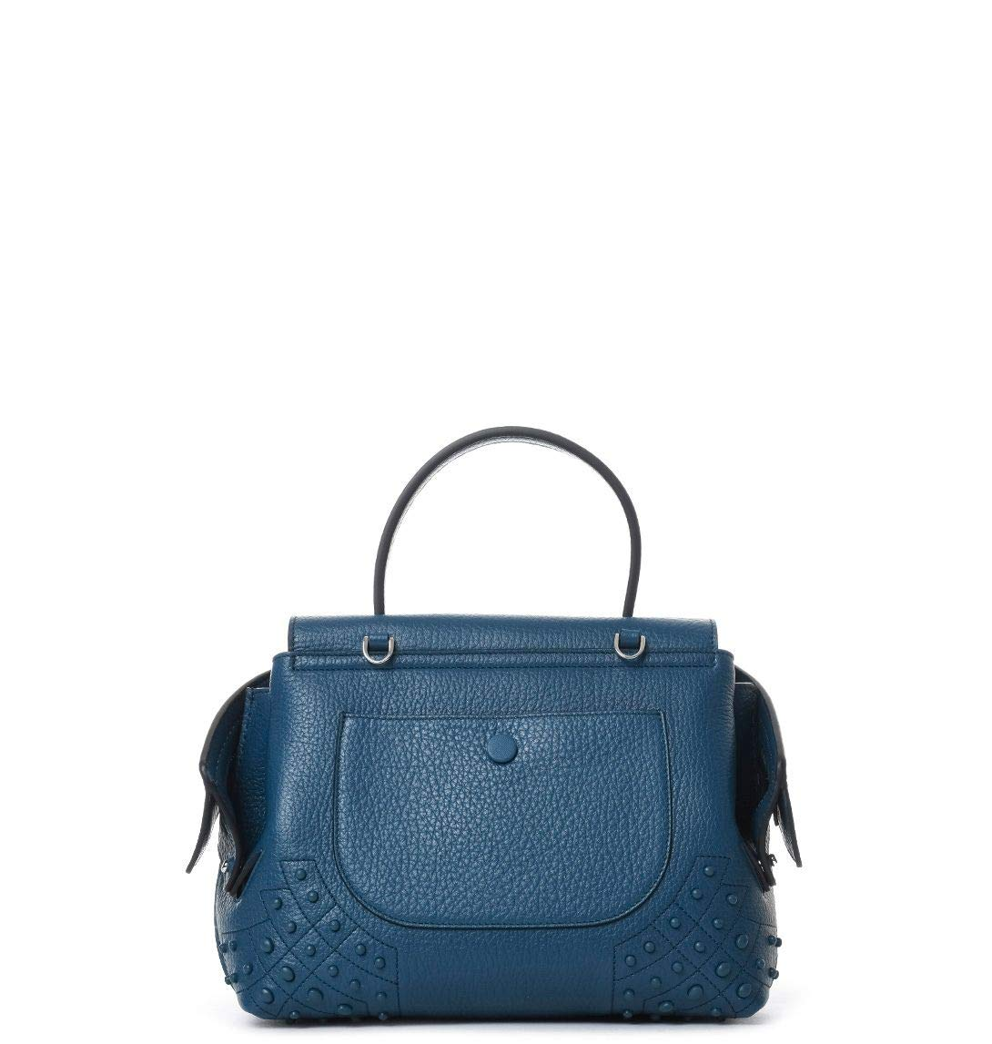 Tods Womens Xbwamrhg101srkt612 Blue Leather Tote