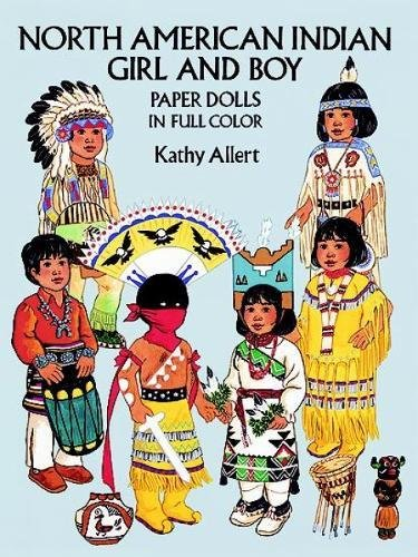 North American Indian Girl and Boy Paper Dolls (Dover Paper Dolls) Boy Paper Dolls