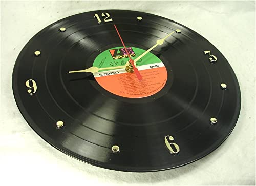 IT S OUR EARTH Vinyl Record Clock Hand Made Using a Led Zeppelin Vinyl Record Album