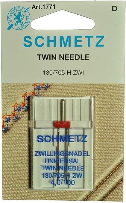 Schmetz máquina de coser doble aguja: Amazon.es: Hogar