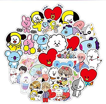 ZJJHX Pack Libro Stikers Green Stitch Ablum Diary Label Tattoo Cute Motorcycle Fashion Anime KPOP Stickers 60Pcs: Amazon.es: Coche y moto