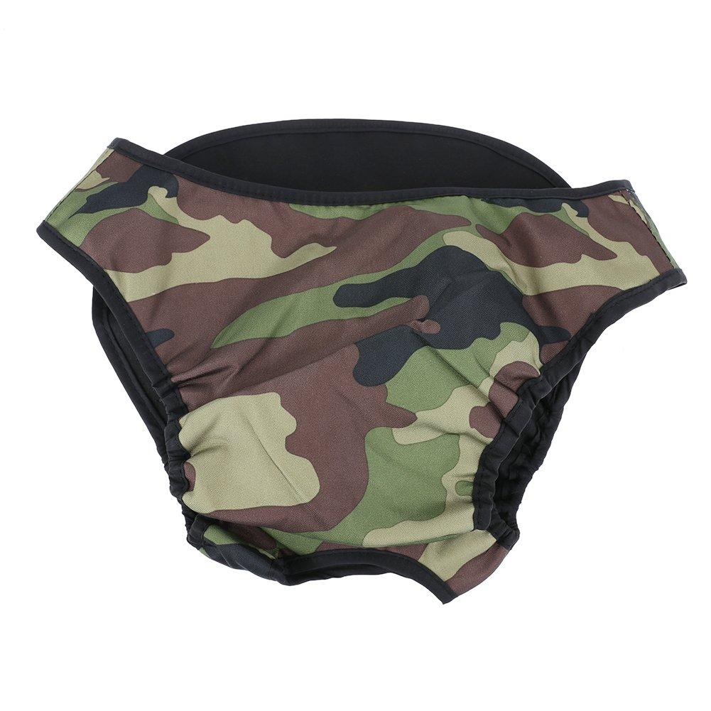 Gowind6Culottes pour Chien Grand Chien physiologique Diaper sanitaire Pantalon Lavable Femelle Chien sous-vêtements