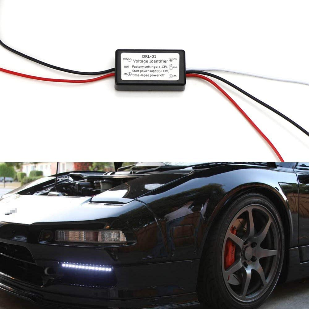 Trintion Daytime Running Lights Controller DRL Auto LED Controller Dimmer Relay Switch Controller