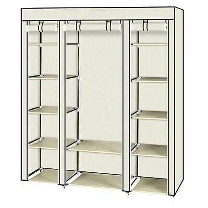 Wardrobe Home Storage Women Home Storage Non-woven Closet Home Organization
