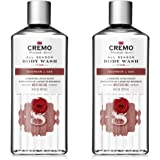 Cremo Rich-Lathering Bourbon & Oak Body Wash, A Sophisticated Blend of Distiller's Spice, Fine Bourbon and White Oak, 16…