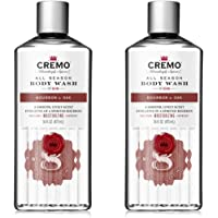 Cremo All Season Body Wash, Bourbon & Oak, 16 Fl. Oz, 2 Pack - Masculine Scent With A Tantalizing Essence Of Lively…